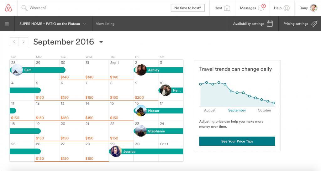 Precios inteligentes de Airbnb | Software de precios para Airbnb | Raixer
