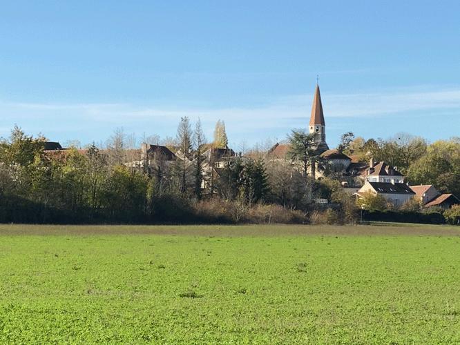 Paysage naturel de l'Yonne