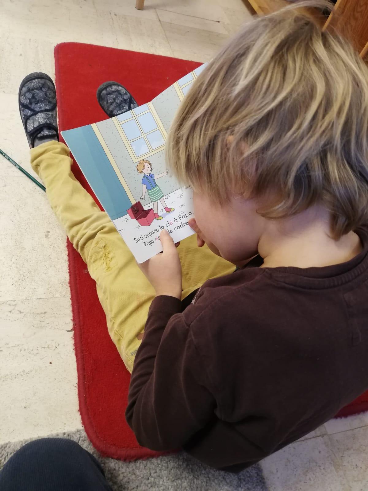 Enfants - Classe Montessori