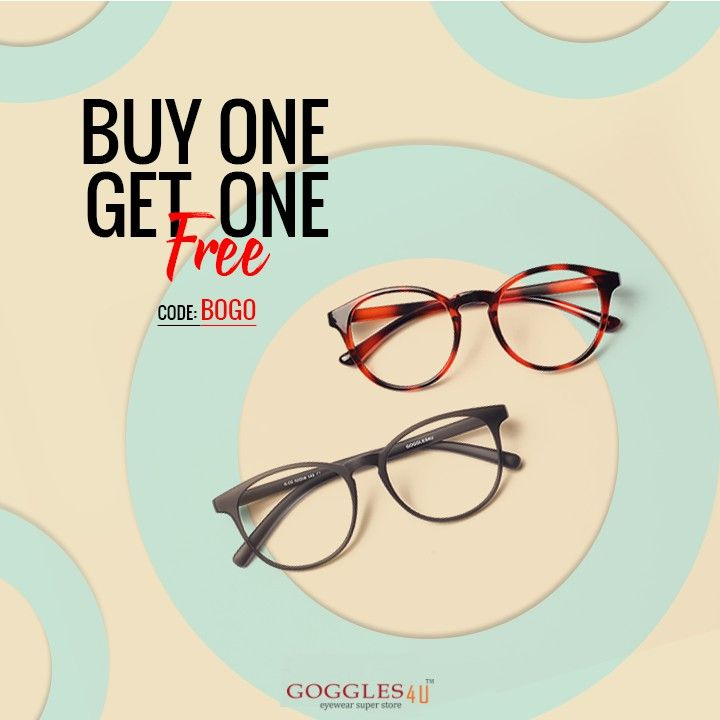 Buy one get two, brown and gray viewing glasses