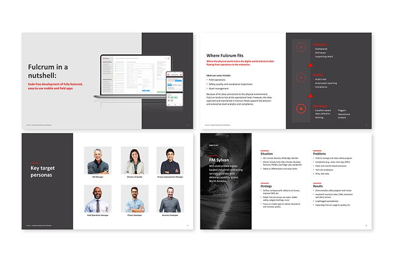 Presentation slide examples