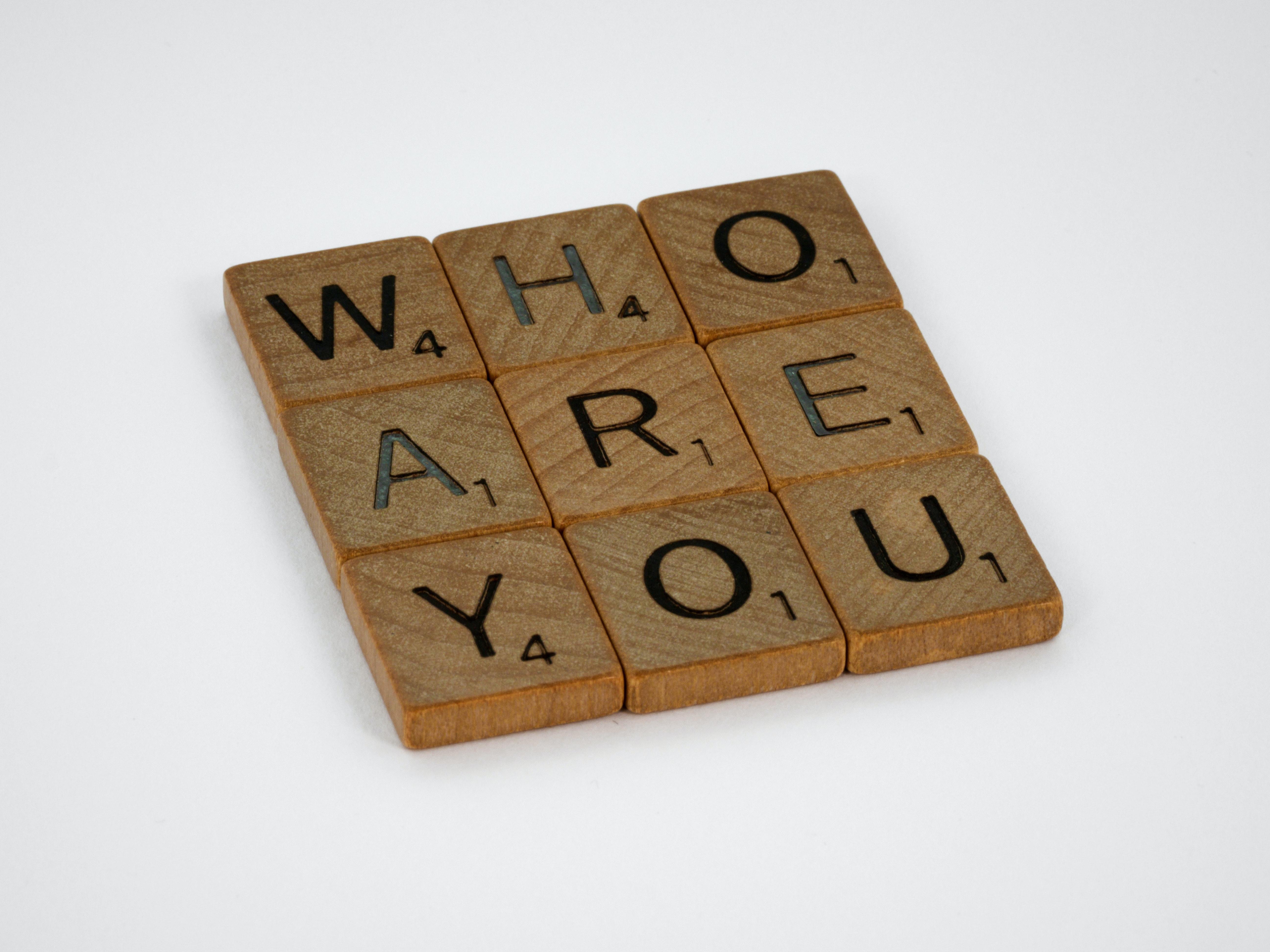 Identita-vím, kým jsem; vím, kam patřím