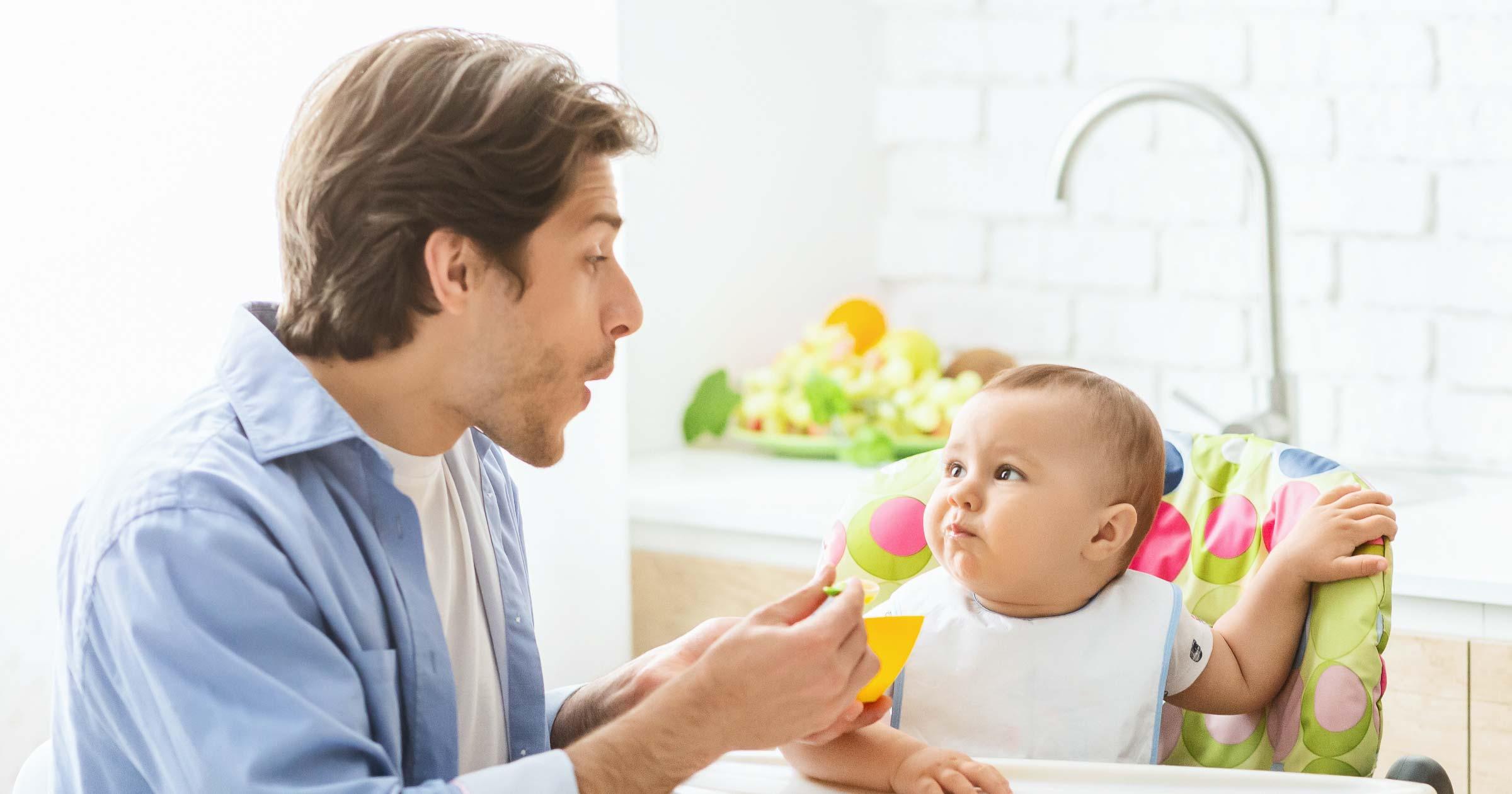 Babynahrung: Was soll mein Kind das erste Jahr essen?