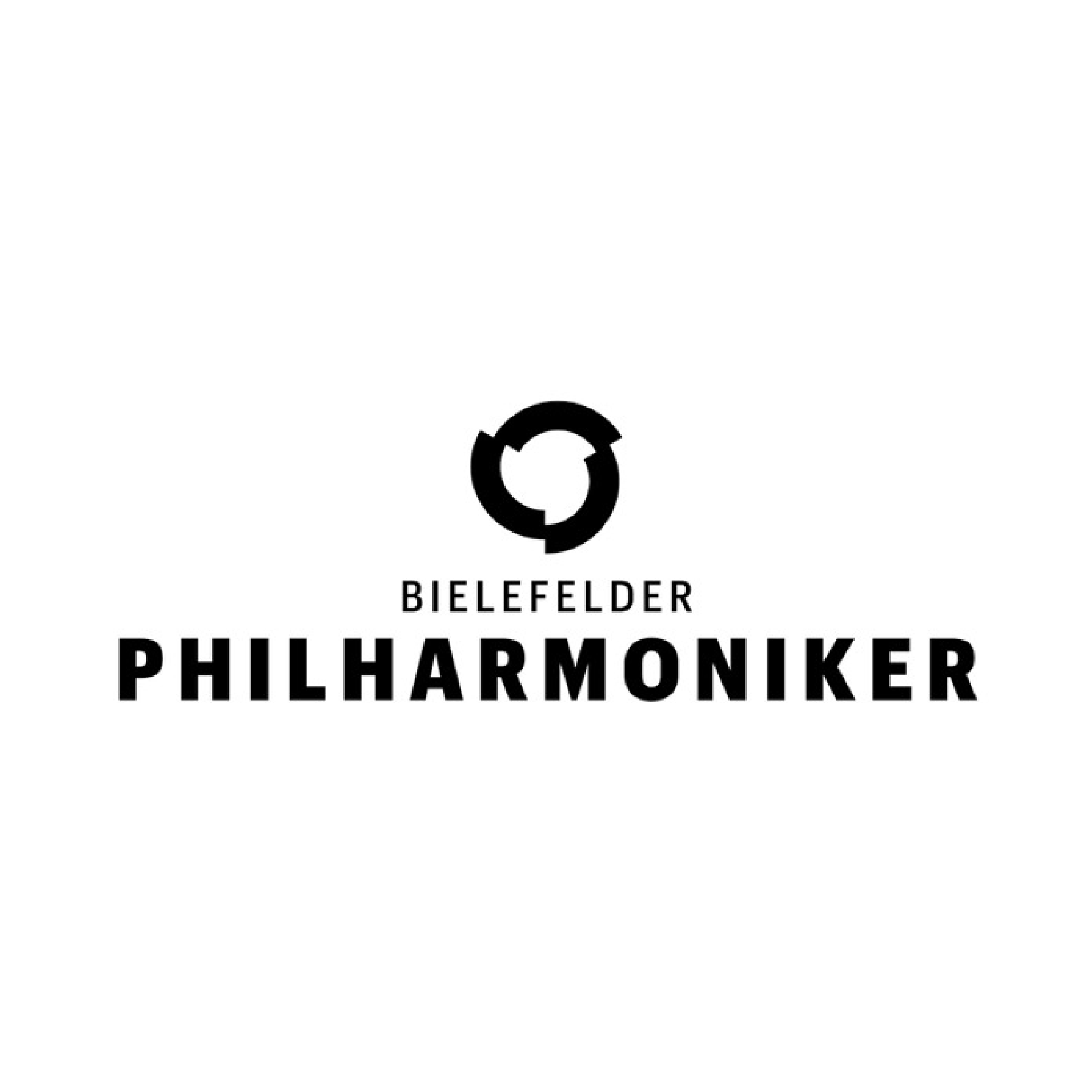 Bielefelder Philharmoniker Logo Agentur