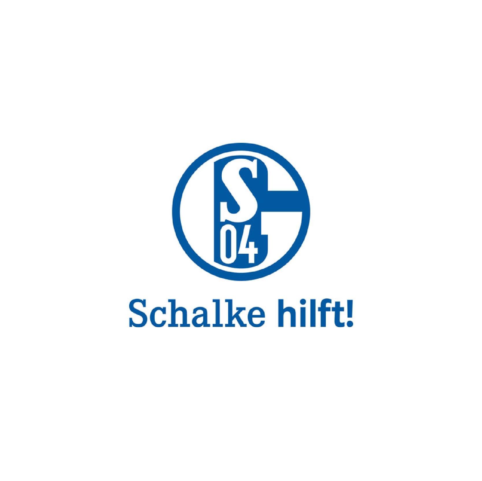 Schalke 04 Schalke hilft Logo
