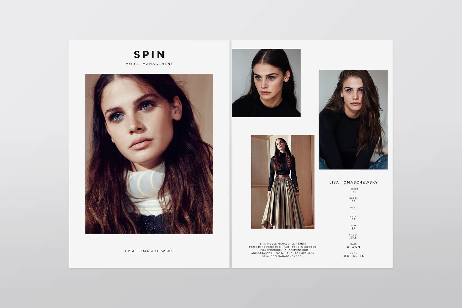 Spin Modelmanagement Design