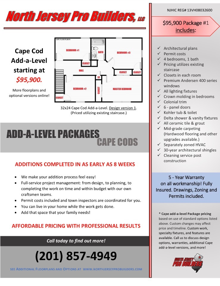 NJPB Cape Add-A-Level promotion packages