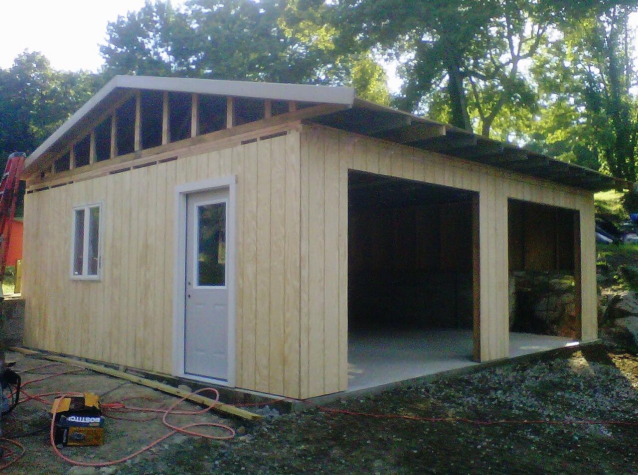 NJPB framing shed complete