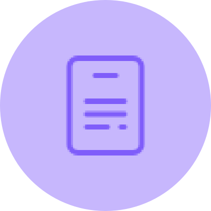 long text creation icon