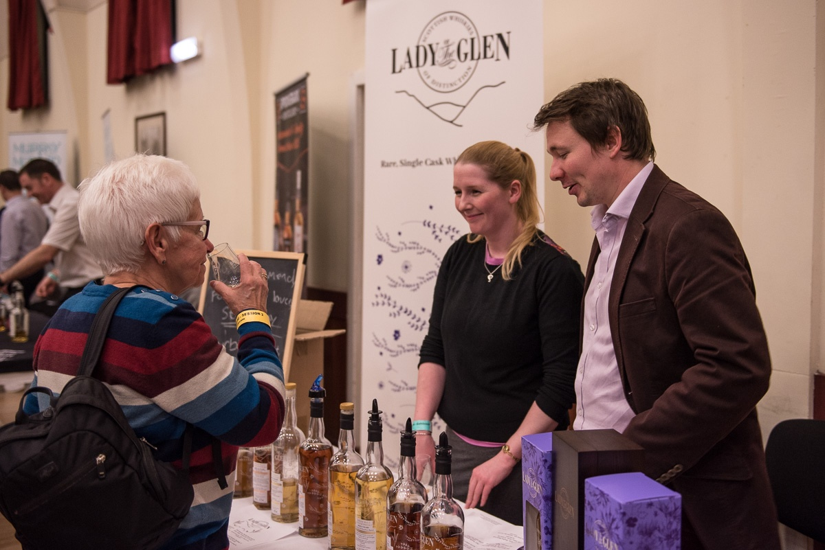 Lady of the Glen Fife Whisky Festival