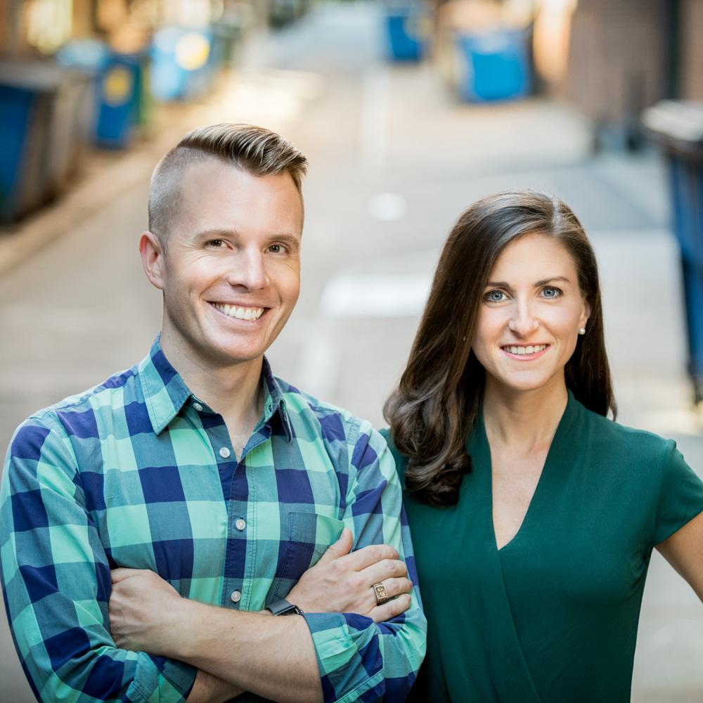 Photo of Spoiler Alert founders Ricky & Emily