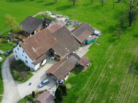 Luftbild vom Iserig Hof