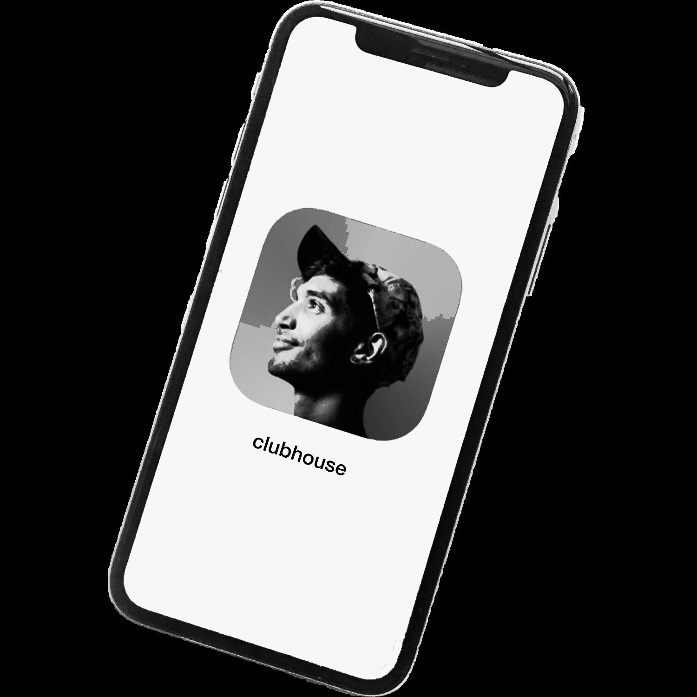 Clubhouse App auf dem Smartphone