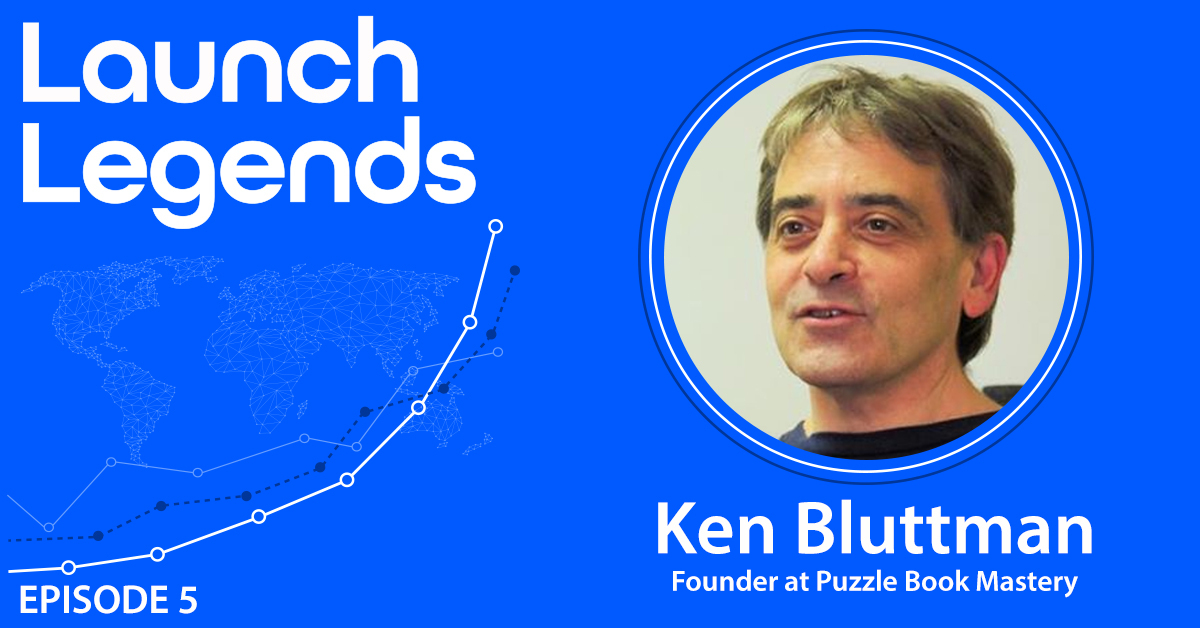 A $80k In 5 Days with Ken Bluttman of Puzzle Book Mastery
