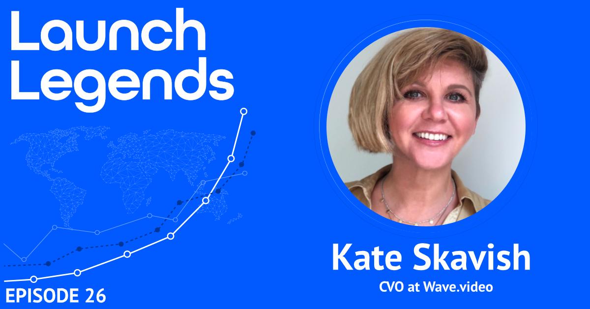 From Product Launch In Social Media Marketing World To 1.5 Million Visitors A Month With Kate Skavish Of Wave.video