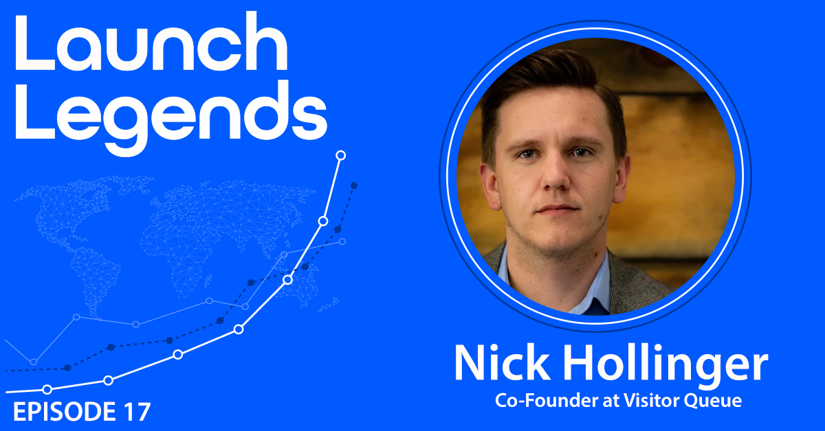 Scaling To $408K in ARR Within 3 Years With Nick Hollinger Of Visitor Queue