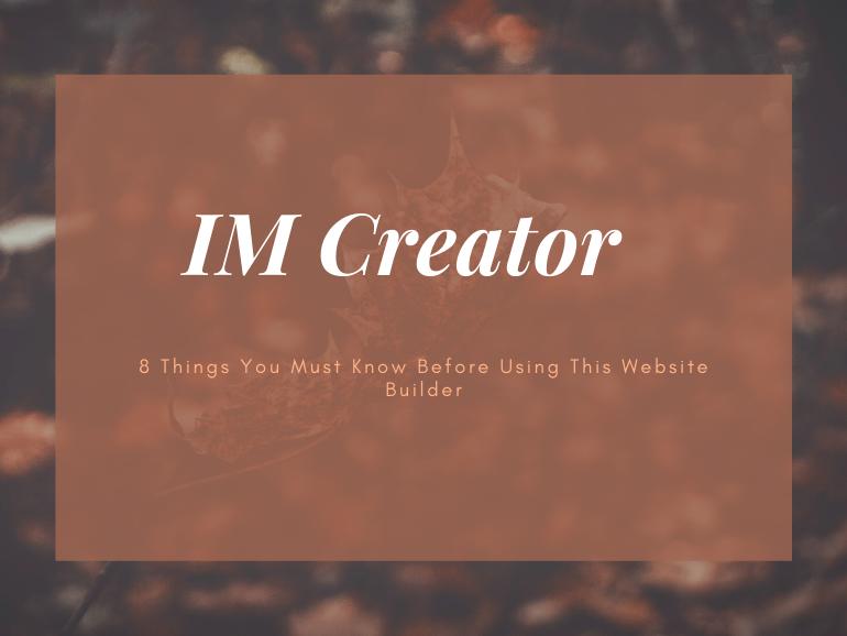 IM Creator Review