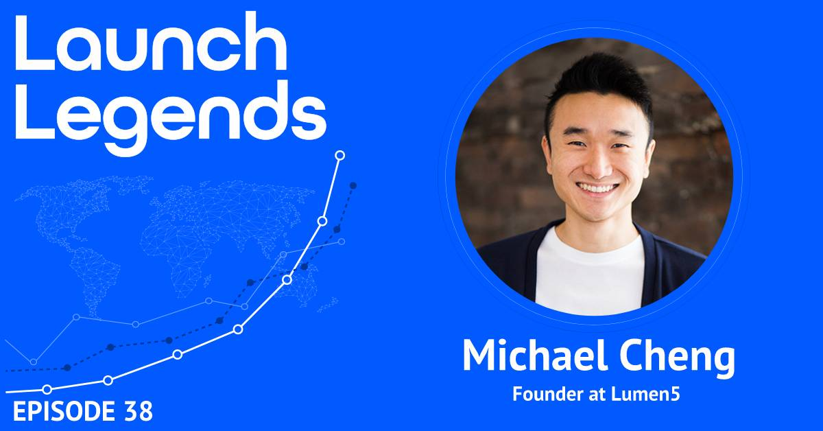 Growing Lumen5 to 700,000 Users Without a Marketing Team With Michael Cheng