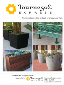 Park-N-Play-Design-Canada-Supplier-Catalogue-Cover-Tournesol-Site-Furnishings-225x300