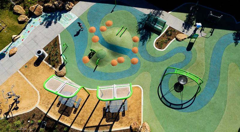 modern overhead playground planning