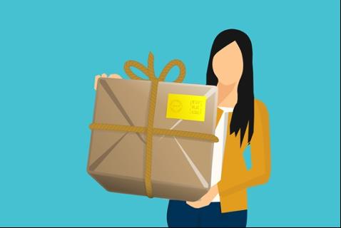 pick-up parcel