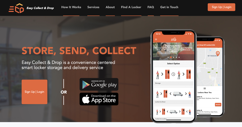 ECD Smart locker official website