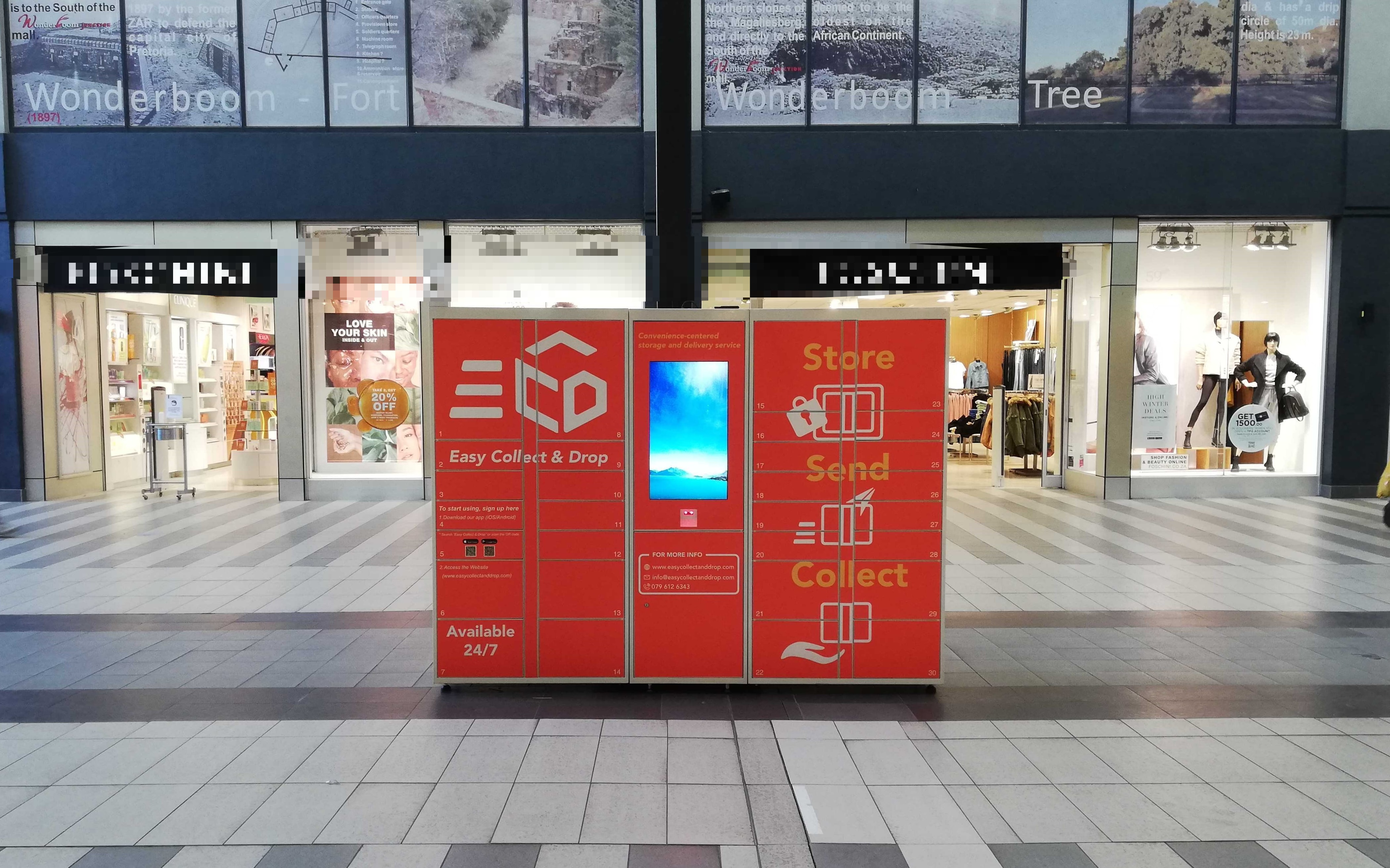 Wonderbroom junction mall ECD locker