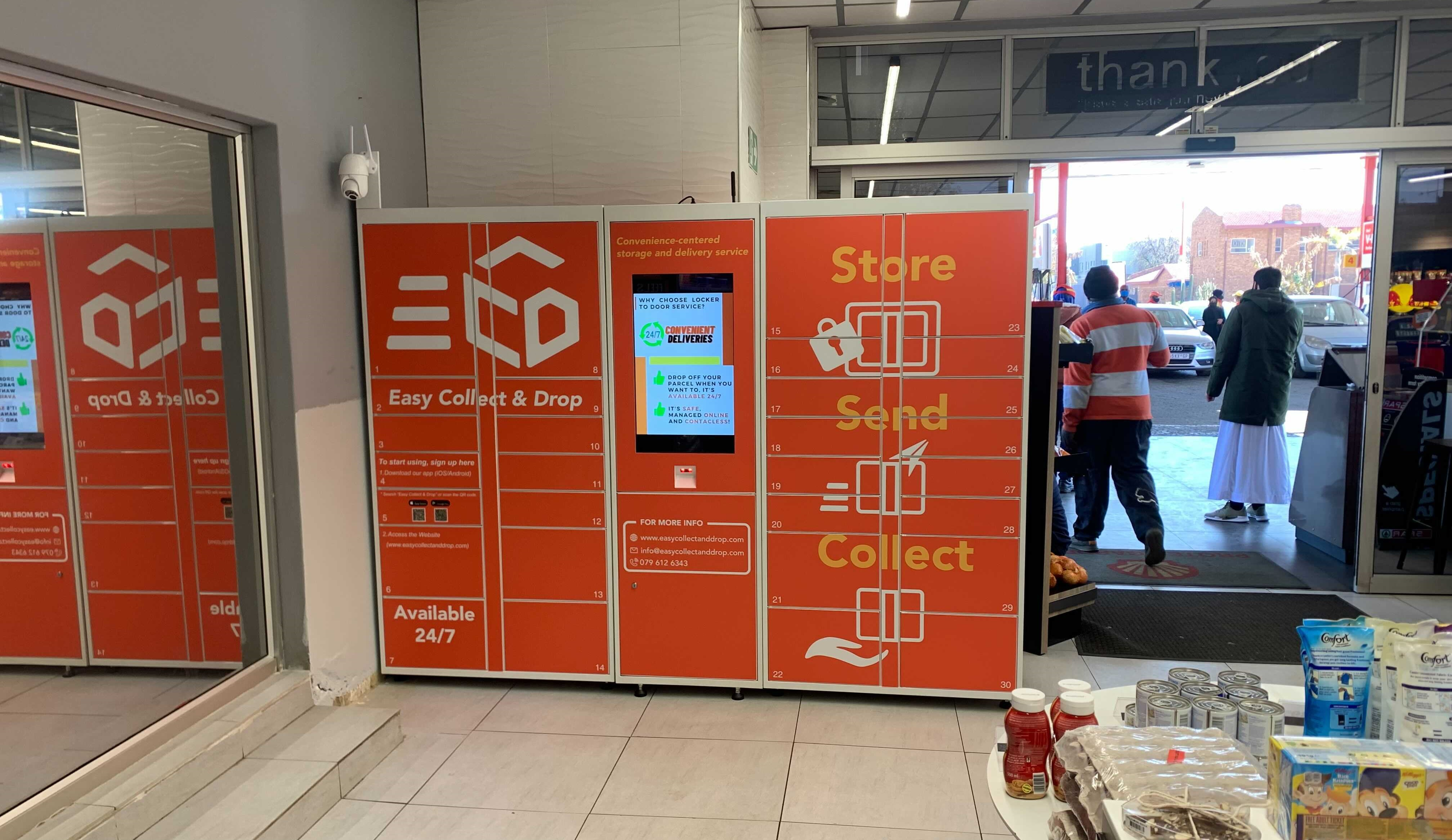 ECD smart locker in Lenasia