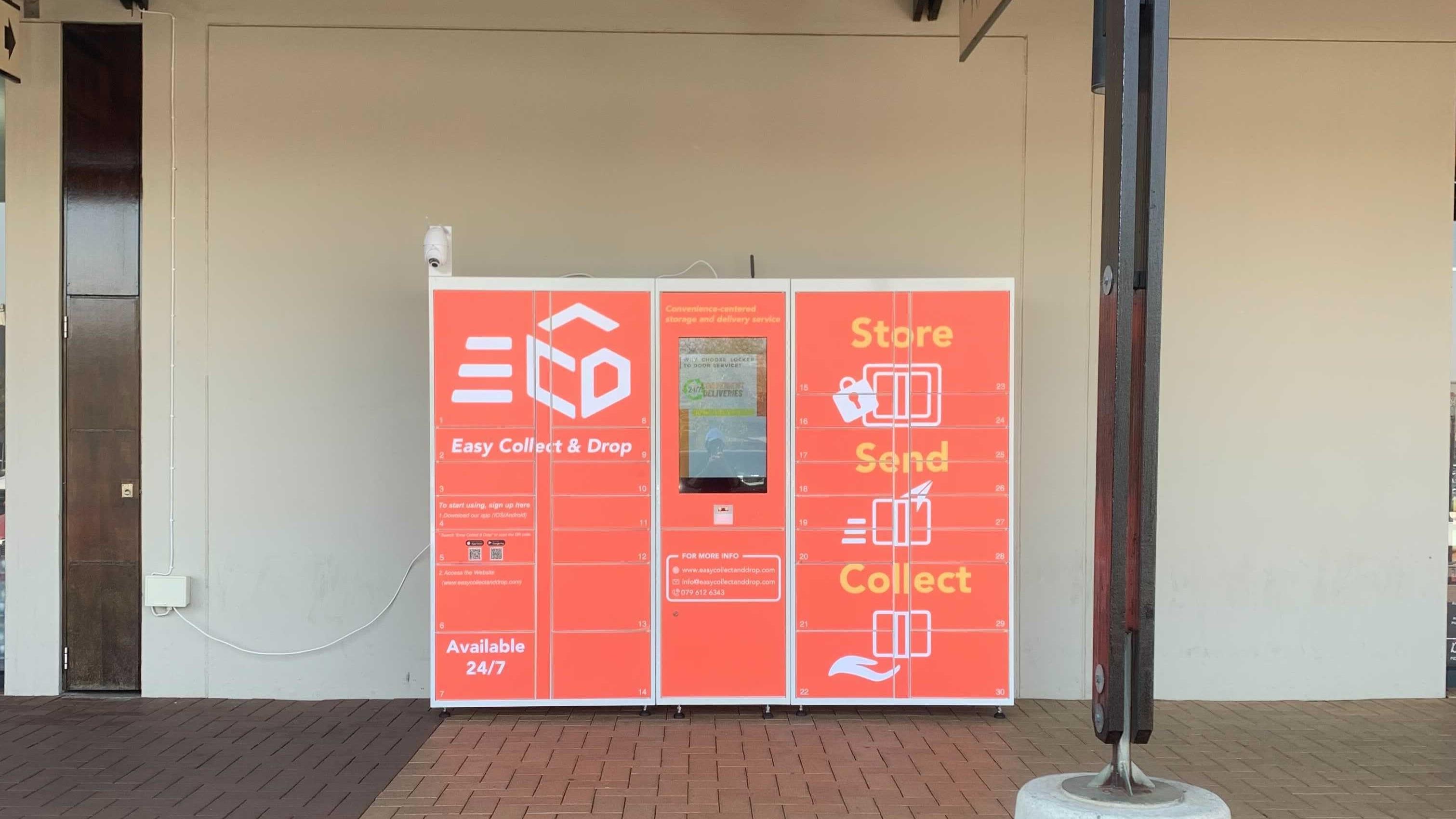 Horizon Shopping Centre's ECD locker
