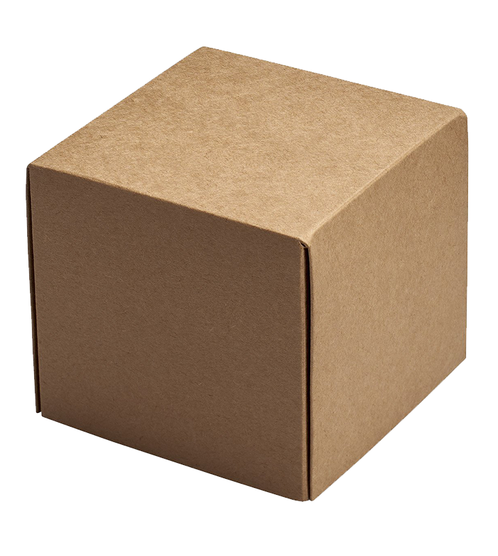 brown, recyclable, giftbox
