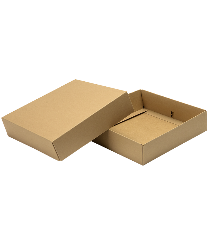 brown, recyclable gift box