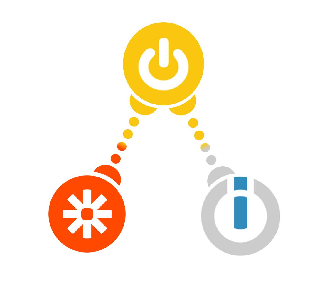 Logo de digidop avec Zapier et Integromat
