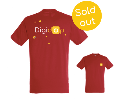Tshirt Digidop Rouge