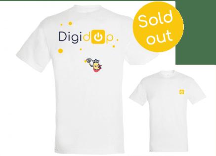 t-shirt blanc digidop