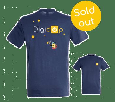 Tshirt bleu digidop