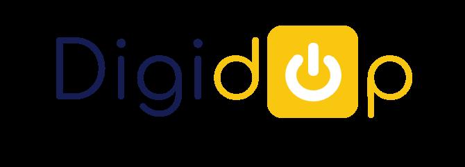 Logo bleu Digidop