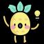 Icone ananas idée