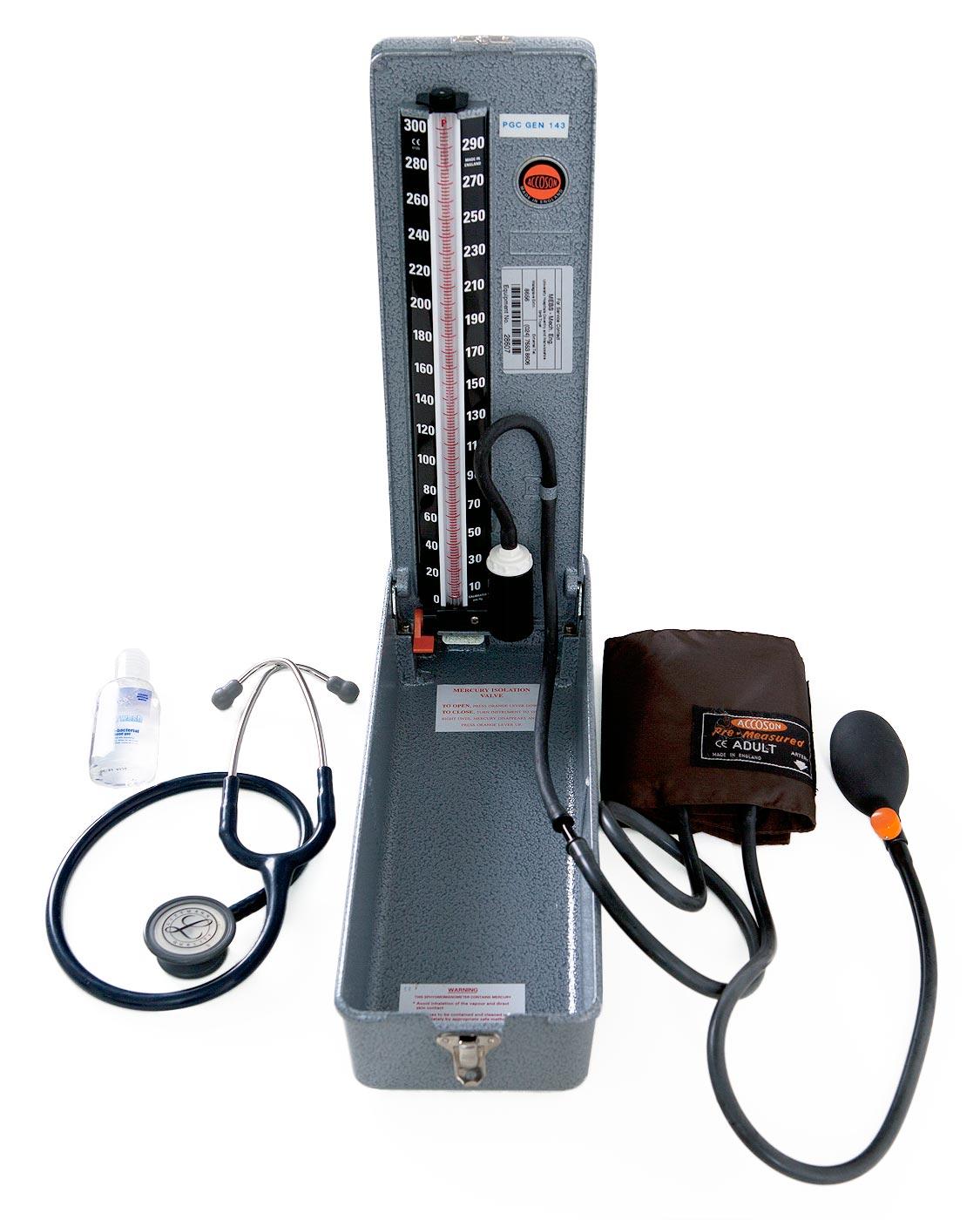 Equipment for measuring blood pressure