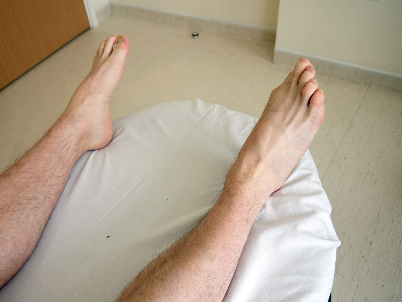 Foot eversion movement
