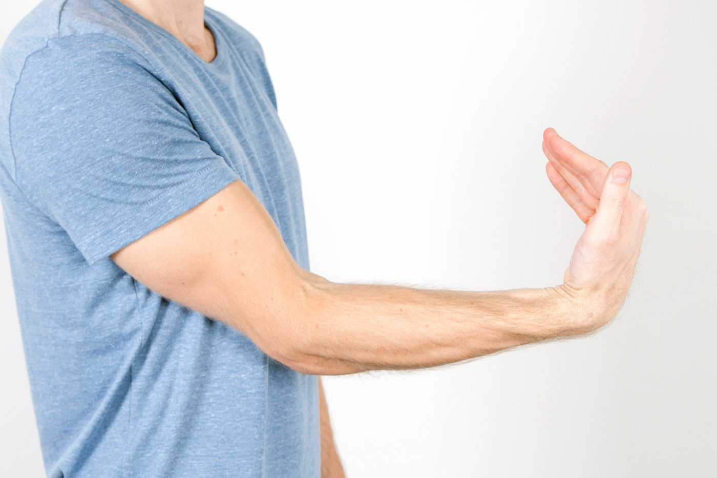 Check for golfers elbow
