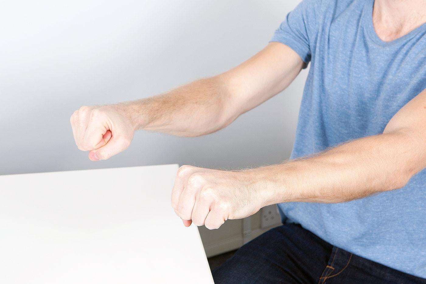Finger flexion