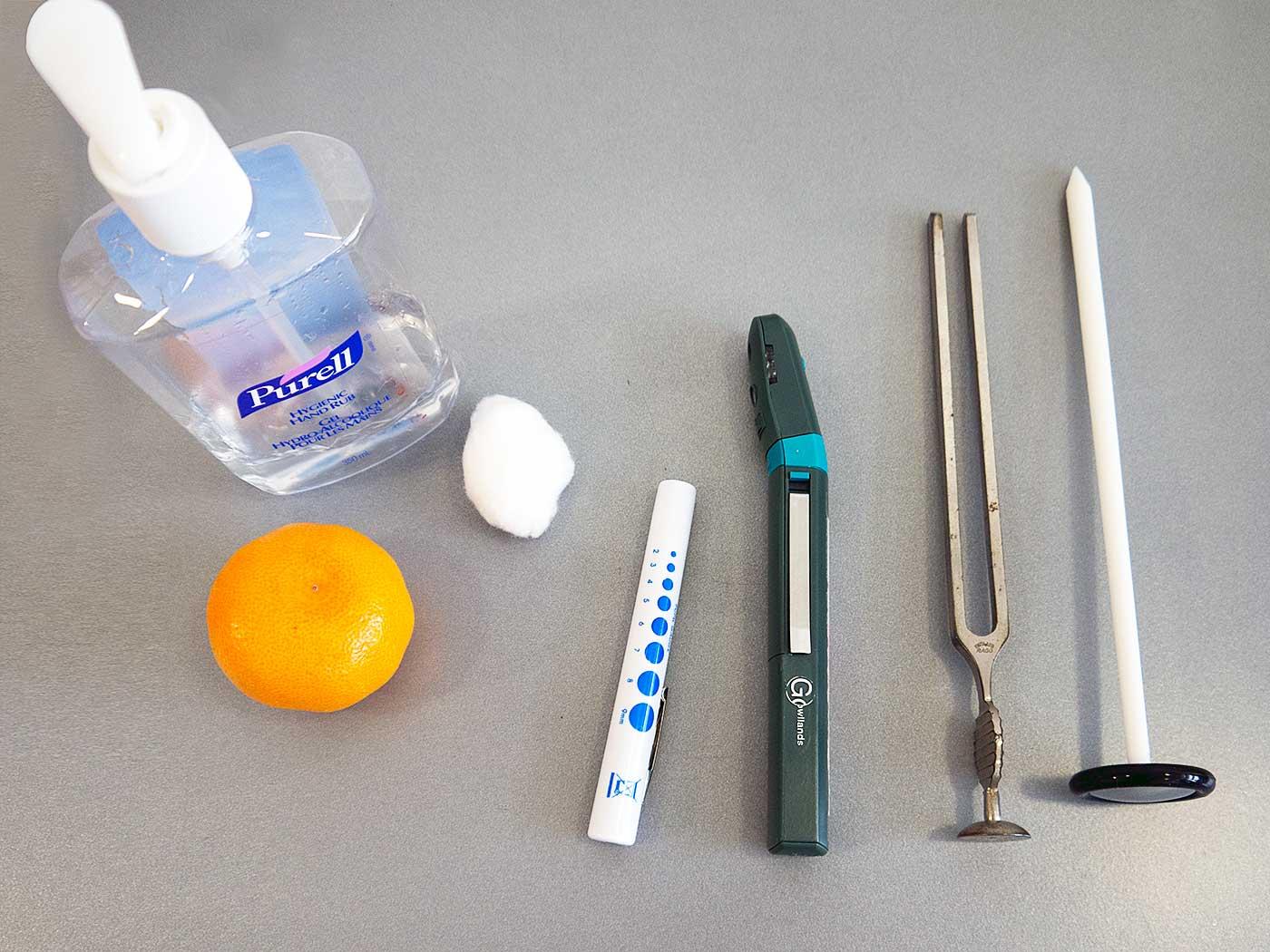Cranial Nerve Examination equipment