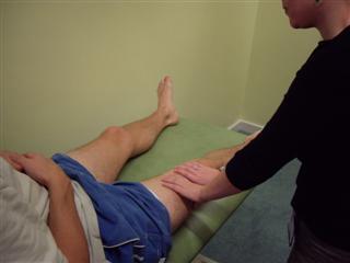 Assess leg tone