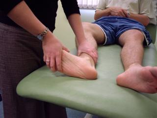Check for ankle clonus