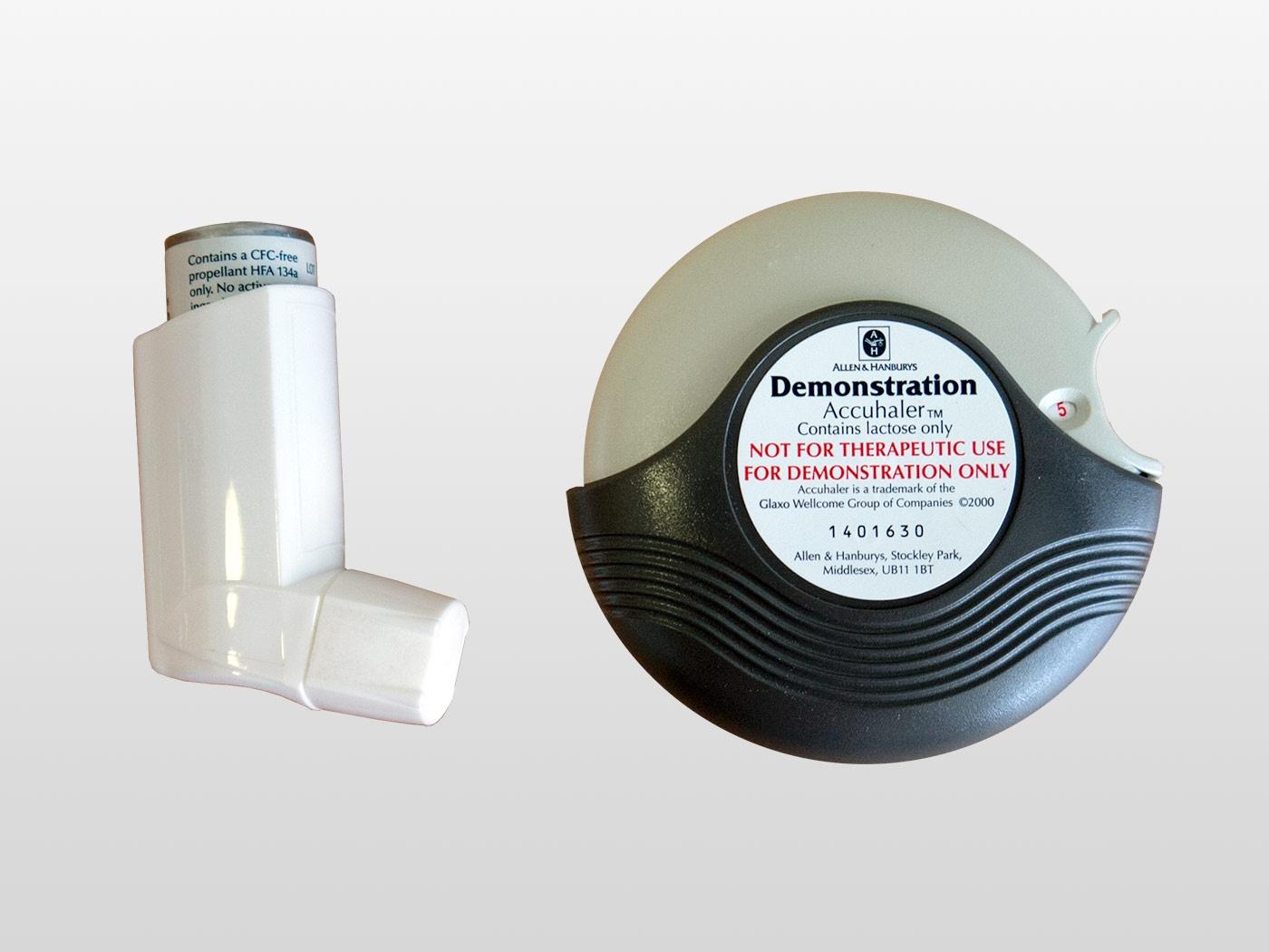 Types of inhaler