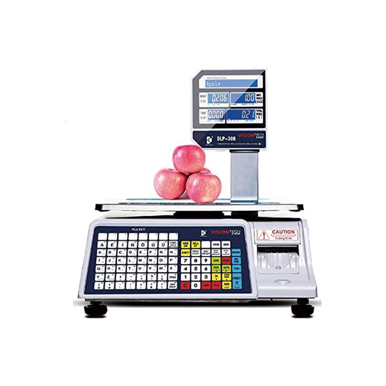Dlp-300 Scale w/ label printer