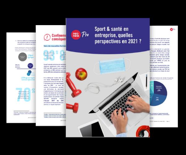 Sport et santé en entreprise, quelles perspectives en 2021 ?