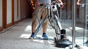 How do Hotels Clean Carpets?