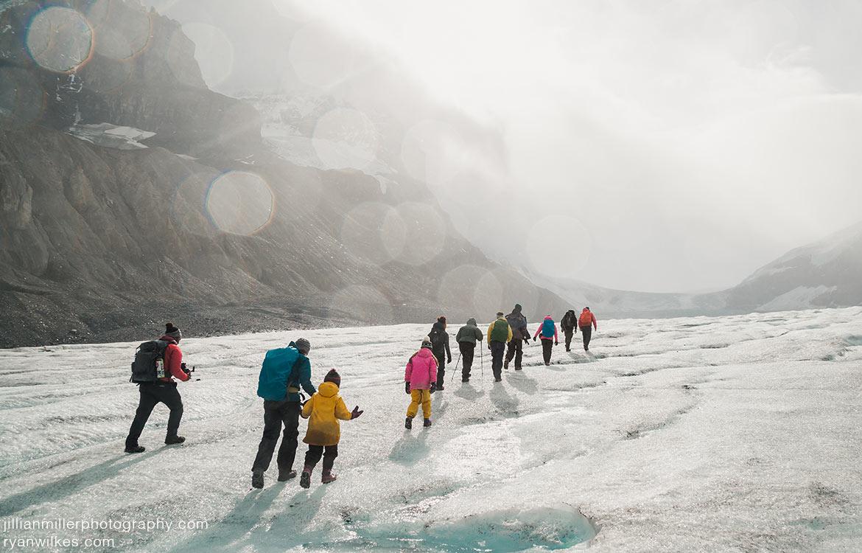 IceWalks Glacier Hike on the Columbia Icefield