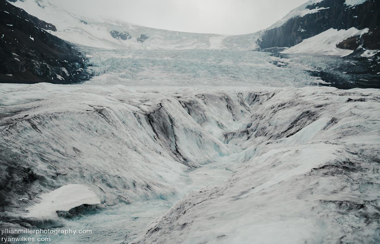 Athabasca Glacier Landscape
